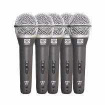 Kit Microfone Superlux C5 com cachimbo -