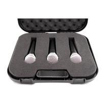 Kit Microfones Kadosh K-58A Com Fio (3 Peças) -