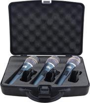 Kit Microfones Kadosh K-98 (3 Peças) -