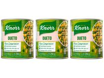 Kit Milho e Ervilha em Conserva Knorr - 3 Unidades 170g Cada