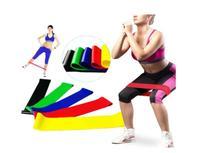 Kit Mini Band 5 Faixas elásticas Exercício Funcional pilates ginástica + Bolsa - Mini Bands