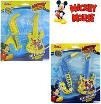 Kit Mini Instrumento Musical Infantil Com 2 Pecas Mickey - Etitoys