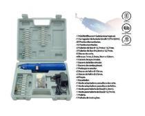 Kit Mini Micro Retífica A Bateria Sem Fio + 62 Acessorios - Western