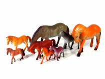 Kit Miniatura Brinquedo Animais Série Cavalos Selvagens - Barcelona