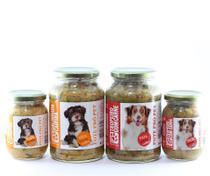 Kit misto comida natural cachorro 12 Pote Pró Pet ração cães - Pote Pro Pet
