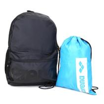 Kit Mochila Arena Backpack + Sacola Arena Gym Sack -