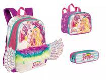 Kit Mochila Barbie Unicornio Asas Dreamtopia Costas G Sestin - Sestini