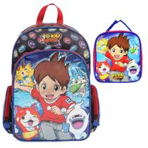 Kit Mochila de Costas + Lancheira Yo-Kai Watch - Dermiwil