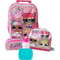 Kit Mochila Infantil Lol Surprise Rodinhas 2019 - School Bags