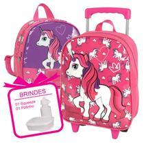 kit mochila infantil menina com lancheira feminina top - LUXCEL