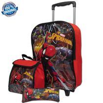 6675b0a3d Kit Mochila Tam G Spider Man Homem Aranha Sestini