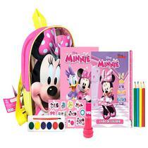 Kit Mochilinha Minnie DCL -