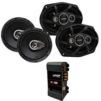 Kit Modulo Tl 500 Taramps + 2 Par Falante 6 E 6x9 Prime - ORION