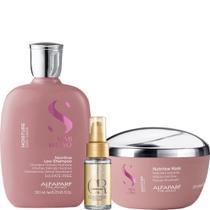 Kit Moisture Shampoo, Máscara e Oil Reflections - Alfaparf -