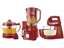 Kit Mondial com Liquidificador Batedeira - Espremedor de Frutas -