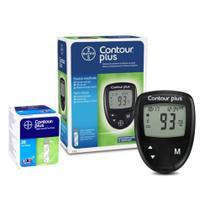 Kit Monitor De Glicemia Contour Plus + 25 Tiras - Bayer