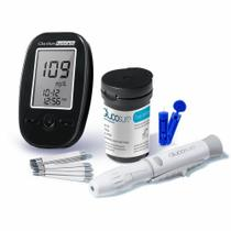 Kit Monitor de Glicemia Glucosure AutoCode HC160 Multilaser -