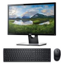 """Kit Monitor Dell 21.5"""" SE2216H + Teclado e Mouse sem fio Dell Pro KM5221W Preto -"""
