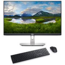 """Kit Monitor Dell 23.8"""" S2421HN Prata + Teclado e Mouse sem fio Dell Pro KM5221W Preto -"""