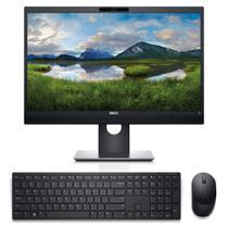 """Kit Monitor Dell de 24"""" P2418HZ + Teclado e Mouse sem fio Dell Pro KM5221W Preto -"""