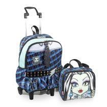 Kit Monster High 16Y Frankie 2 - Mochilete + Lancheira - Sestini