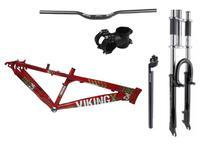 Kit Montagem Bicicleta Freeride Aro 26 Mtb Downhill - Vikingx