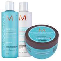 KIT MOROCCANOIL Repair Hydrating Mask (3 Produtos) -
