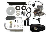 Kit Motor Completo Bicimoto para bicicletas 48cc 2 tempos - Prata -