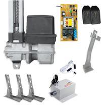 Kit Motor de Portão Basculante PPA Home R 1/4 + Suporte + Trava -
