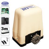 Kit Motor Deslizante Dz Portao Eletrônico Rossi Dz3 Sk Turbo -