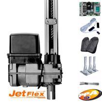 Kit Motor Portão Eletrônico Basculante Bv Home Smart Ppa Jet Flex -