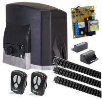 Kit Motor portão eletrônico deslizante KDZ FIT 1/4HP Garen -