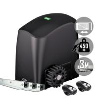Kit Motor Portão Eletrônico Deslizante Rcg Slider-PL Maxi 1/4 450 kg -