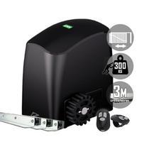 Kit Motor Portão Eletrônico Deslizante Rcg Slider-PL Slim 1/5 300 kg -