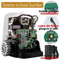 Kit Motor Rossi 1/4CV Dz Nano Turbo 2 Control Portão Eletrônico Deslizante 600kg -