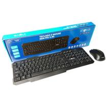 Kit Mouse e Teclado Sem Fio Wireless Inova Key-8389 -