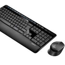 Kit Mouse + Teclado Logitech MK345 S/Fio Preto -