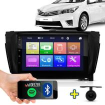 Kit Multimidia Mp5 2 Din Corolla 2014 2015 2016 - Auto monster