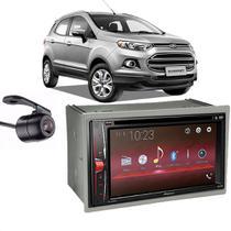 Kit Multimídia Pioneer Avh-G228BT+ 2 Din + Câmera Ecosport -