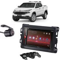 Kit Multimídia Pioneer Avh-G228BT+ 2 Din + Câmera Fiat Toro -