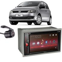 Kit Multimídia Pioneer Avh-G228BT + 2 Din + Câmera Fox -
