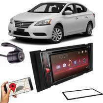 Kit Multimídia Pioneer Avh-G228BT+ 2 Din + Câmera Nissan Sentra -