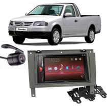Kit Multimídia Pioneer Avh-G228BT + 2 Din + Câmera Saveiro G3 -