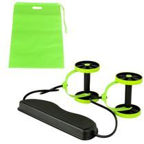 Kit Musculação Fitness Elástico Roda Extensor para Abdominal Braços e Pernas - Tander