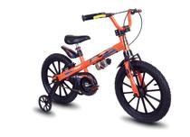 Kit Nathor Bicicleta Infantil Aro 16 Com Rodinhas Extreme + Capacete Infantil Preto -