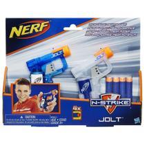 Kit Nerf Elite Jolt Dardo com 2 Lançadores Hasbro - B5817 -
