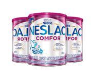 Kit Neslac Comfor Composto Lácteo 800g 3 Unidades -