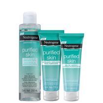 Kit Neutrogena Purified Skin Triple (3 Produtos) -