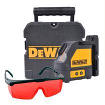 Kit Nível À Laser Dewalt Dw088k  tripé Mtx   Óculos Vonder -