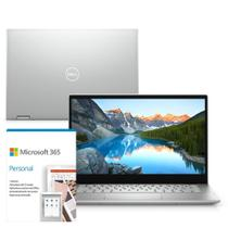 "Kit Notebook 2 em 1 Dell Inspiron 5406-OS20SF 14"" Touch 11ª Ger Intel Core i5 8GB 256GB SSD Windows 10 Microsoft 365 -"